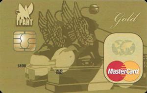 Банк Грант Стандарт Gold