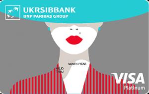 Укрсіббанк Visa Lady Card Platinum
